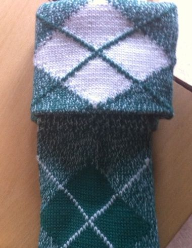 Knitting Pattern For Highland Dance Socks : Highland Dancing Hose (Socks) - Dark Green - Small